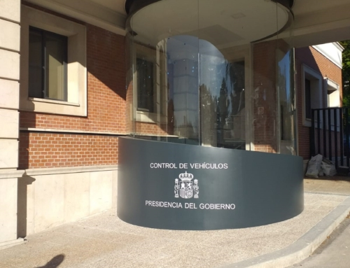 Terminación garita Presidencia del Gobierno, Palacio de la Moncloa