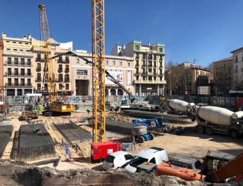 Reinicio Polideportivo Municipal La Cebada MADRID