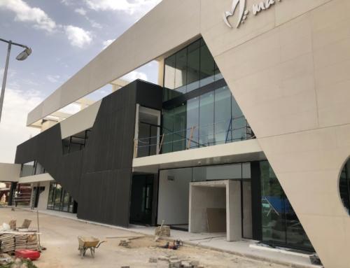 Estado actual edificio MARISTA a un mes de su finalización