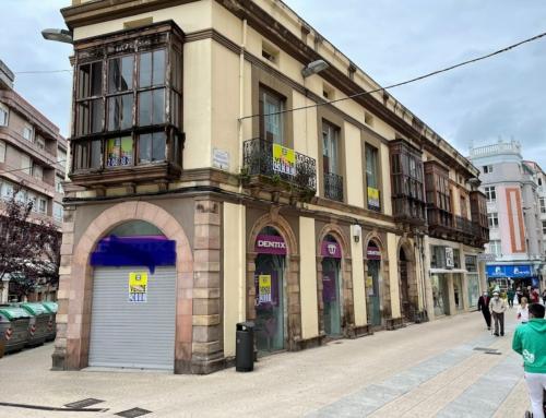 Adjudicación restauración edificio para oficina Store CaixaBank en Torrelavega CANTABRIA
