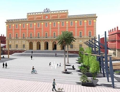 Reforma y acondicionamiento Plaza del Rey en San Fernando CADIZ